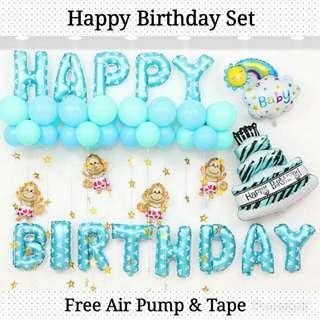 DIY Happy Birthday Set 1