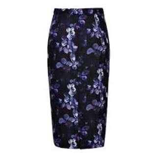 SEED HERITAGE - Midi Skirt Size 10