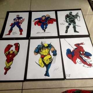 superhero arts