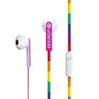 Urbanista San Francisco Hybrid Earphones Lucky Rainbow