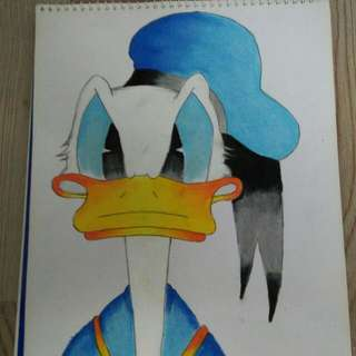 Selling... Donald Duck Drawing