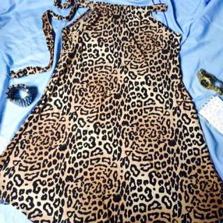Dress (cocktail Tiger/leopard Dress)