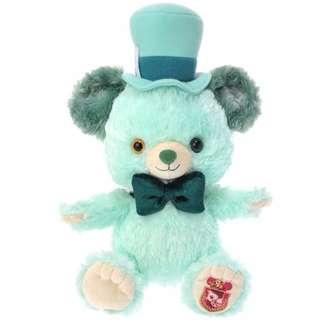 絕版 日本迪士尼 五週年限定 愛麗絲夢遊仙境 瘋帽先生 薄荷 大學熊 玩偶