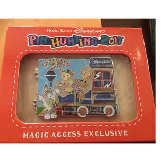 Disney 限量50 Magic Access Exclusive Pin Hunting 2017