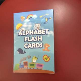BRAND NEW DRYPERS ALPHABET FLASH CARD