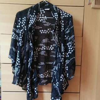 REPRICED! Black Kimono
