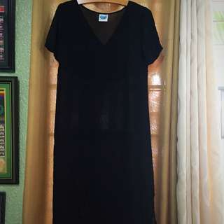 REPRICEd Black dress