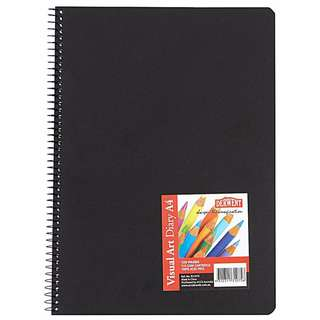 Used Derwent 120p A4 Visual Art Diary