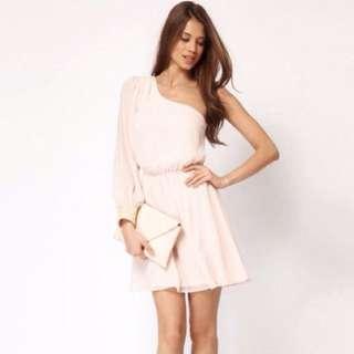 Nude/ Dusty Pink Dress