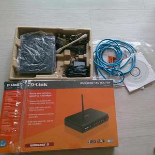 D-link Wireless Dir-600 Router Complete Set With Box