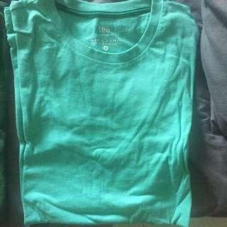 Cyan/Green Giordano Tee M size