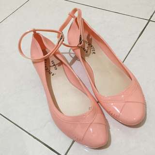 New Sepatu Wedges Adcenter Jelly