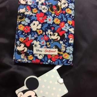 全新❤️Cath Kidston X Mickey Mouse 限量 花花 米妮 護照套