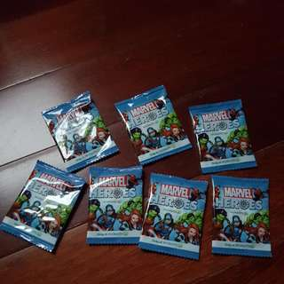 Marvel Heroes Collectible Discs Unopened