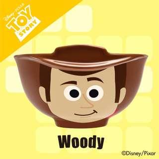 7-11 Pixar 陶瓷碗兩隻 (巴斯光年、胡迪)