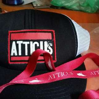 Atticus Cap And Lanyard