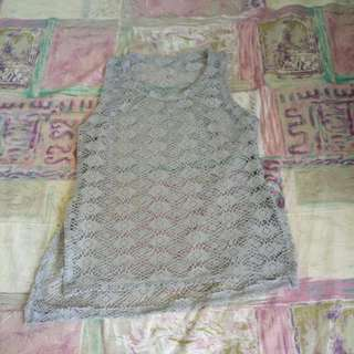 Knitted Beach Blouse