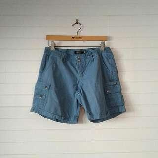 Blue Glasssons Shorts