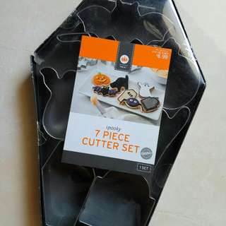 7 Pieces Cutter Set By Wilton - Halloween Special Edition