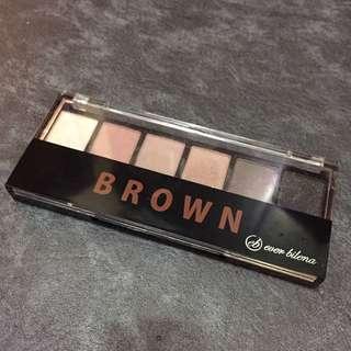Ever bilena brown eyeshadow palatte 🌼