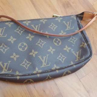 Authentic LV small hand carry bag