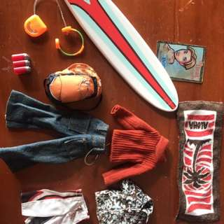 BRATZ doll Accessories - Boys Set And Lounge Room Toys
