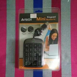 Mini Numeric Keypad