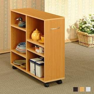🚚 元川開放式隙縫收納櫃(3色選擇)