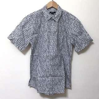 澳洲品牌扶桑花短袖襯衫(男生)