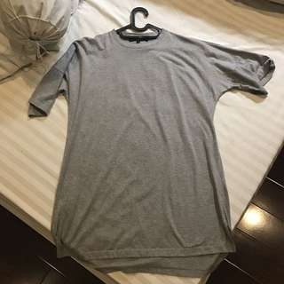 Pomelo Grey Tshirt Dress