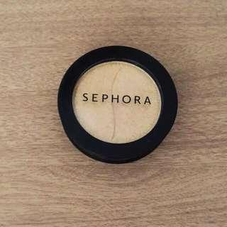 Sephora Gold Eyeshadow