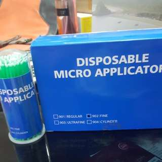 Disposable Micro Brush Applicators