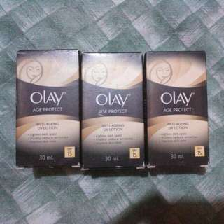 Olay Age Protect Anti Ageing Uv Lotion