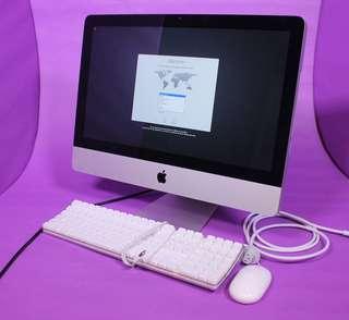 iMac 2009 Apple 21 cpu3.06, 8g ram 500gb hdd IPHONE MACBOOK SSD RETINA