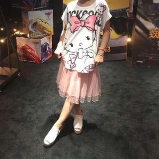 💖H2O粉紅紗裙💖9.9成新