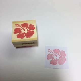 手工印章 👉🏻扶桑花 玫瑰花
