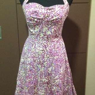 Haltered Dress