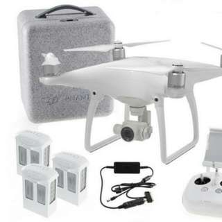 DJi Phantom 4 Set With 11mth Warranty