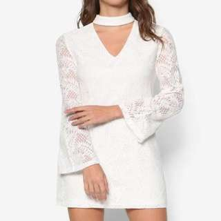 Bnwt Zalora Love Bell Sleeve Dress
