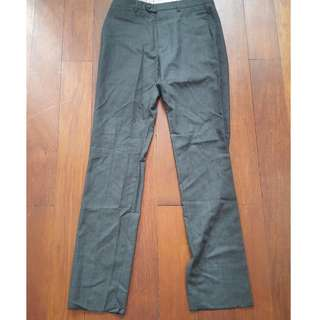 Dark Grey Dunhill London brand dressed pants