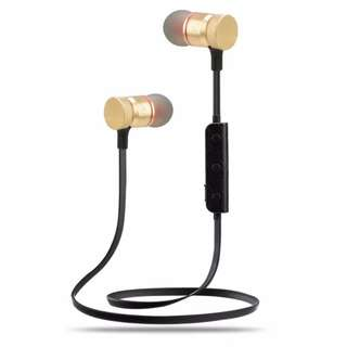M90 Wireless Bluetooth Headset Music Audio Sport In-ear Noise Cancelling Earphone with mic Micro USB Port for Phone Fitness Run
