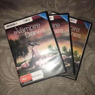 Vampire Diaries Season 1 On DVD