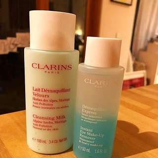 New Clarins Cleansing Products
