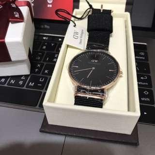 DW正品手錶 有保固卡