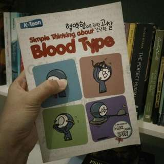 Simple Thinking About Blood Type 1 .