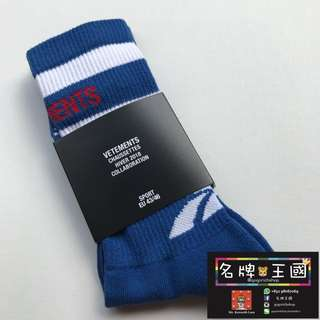 [全新] VETEMENTS x REEBOK Limited Wdition Cotton Socks [Hot Item]