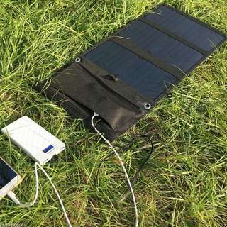 Portable Solar Charger For Phone, Tablets And Power Bank