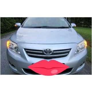 Toyota Altis Rent For Grapcar