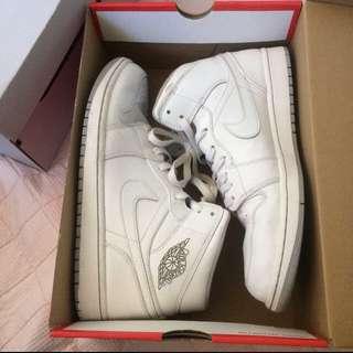 Jordan 1 White Size 11