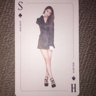 aoa - seolhyun angels knock bing bing special card
